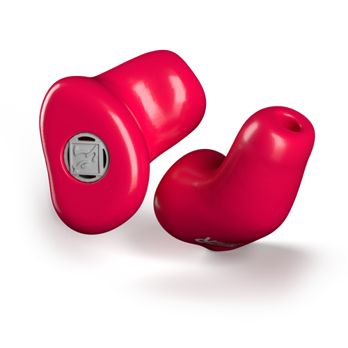 SOWEI UNLIMITED Gehörschutz Rot
