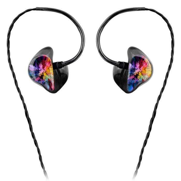 Custom In-Ears schwarz eigenes Logo
