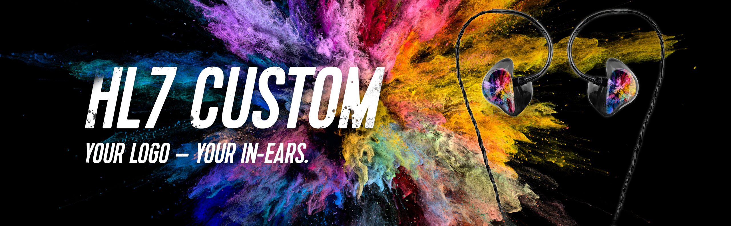 HL7 Custom In-Ears Logo Banner