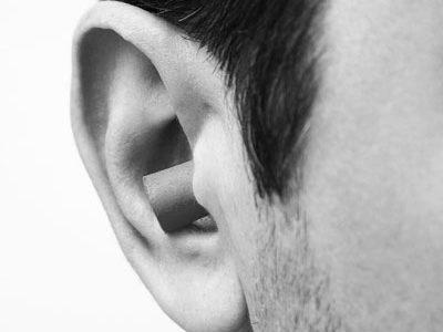 Klassische Gehörschutzstöpsel